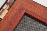 [3د] خشبيّة حبة إنهاء شباك نافذة مع [ستينلسّ ستيل] شاشة