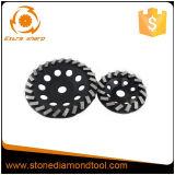 터보 강철 유형 다이아몬드 가는 컵 바퀴