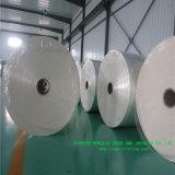 Papel impermeable a la grasa de Biogradable y papel encendido de envasado de alimentos