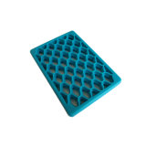 Анти- циновка настила выскальзования впечатленная тканью промышленная SBR резиновый для пакгауза