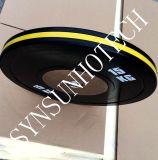 Gummistoßgewicht überzieht Barbell-Platten