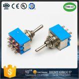 Interruptor de alternância de interruptor pequeno Interruptor rotativo Interruptor de pressão