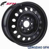 Серебряная стальная оправа колеса для пассажирского автомобиля (17X7J 5/150)