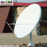 антенна 1.8m Rx только спутниковая (возместите)
