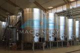 Vino e fermentatore conico inossidabile raffreddato birra