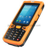 Coleção de dados Leitor de código de barra sem fio portátil PDA com WiFi 3G GPRS NFC RFID GPS Bluetooth