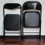 سوداء معدن [فولدينغ شير] مع فينيل [بو] جلد مقادة [يك-ب11-01]