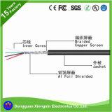 Фабрика кабеля UL подгоняет 200 кабель электропитания PVC XLPE изолированный TPE коаксиальный HDMI проводника провода 0.08mm силикона степени высокотемпературный медный электрический