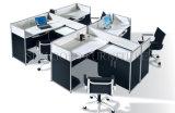 A proteção nova do verde da forma ergonómica abre o compartimento curvado do escritório (SZ-WS347)