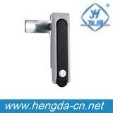 Yh9617 Die-Casting Zinco Plane Lock para o gabinete eletrônico