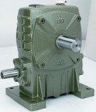 La caja de engranajes del gusano de Wpa (FCA) con el reborde de la entrada cose el tipo reductores de velocidad helicoidales del engranaje