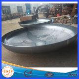 SL ASME 증명서 저장 탱크를 위한 타원형 탄소 강철 접시에 담긴 헤드