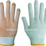 Оптовая торговля нитриловые перчатки из пеноматериала с ПВХ точками упора для рук
