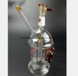 De Waterpijp van het Glas van 8.2 Duim voor Pijp van het Glas van het Spuitpistool de Gele