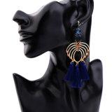 Het elegante Kristal besloeg de Oorringen van de Holle Blauwe van de Leeswijzer Vrouwen van de Legering Lange