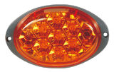 "LED 6 "" 타원형 우회 신호 빛 Tk Tl281"