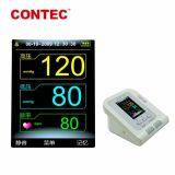 Contec08A Monitor van de Bloeddruk van het Wapen Bluetooth van de Fabrikant van China de Nauwkeurige Digitale Draadloze Elektronische Ambulante