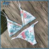 Multi Normallack-Frauen-Badebekleidungs-Ordnungs-niedriger Anstieg-Brasilianer-Bikini