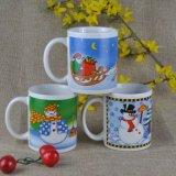 De lege Mok van de Sublimatie Mok van de Koffie van de 10 van Oz de Promotie van Kerstmis V.S. van de Mok Ceramische