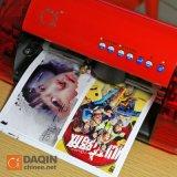 Teléfono móvil de la etiqueta engomada 3D de corte de la máquina impresora