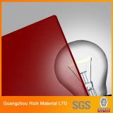 Цвет акриловый лист пластиковый лист Plexiglass для рекламы и письмо подписать