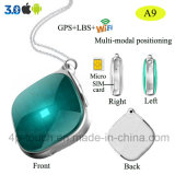 Mini inseguitore personale di GPS con il tasto di SOS (A9)