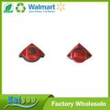 Rodo de borracha de limpeza enfrentado dobro vermelho do indicador do agregado familiar quente da venda