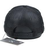 習慣5のパネルのトラック運転手の帽子のブランクの黒の網の帽子の野球