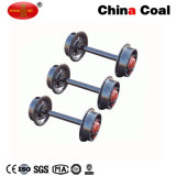 China-Kohle-Form-Stahl-Förderwagen-Radsatz