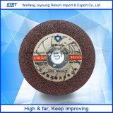절단 바퀴 T41는 금속 100-125mm를 위한 절단 디스크를 엷게 한다