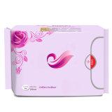 290mm 100% serviettes hygiéniques d'utilisation de dames de coton