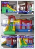 Moonwalk di salto combinato con il Bouncer gonfiabile del castello rimbalzante della Camera di rimbalzo della trasparenza (MCA-46)