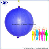 De Ballon van de Stempel van het Latex van de hoogste Kwaliteit met de Vrije Steekproeven van het Elastiekje