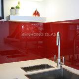 Rückseite angestrichenes GlasSplashbacks für Küche