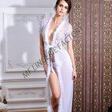Robe Strappy de lacet de lingerie de Chemises de femmes de mini vêtements de nuit sexy de Babydoll