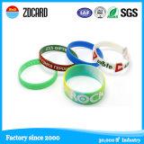 Wristband силикона кремния NFC цвета таможни по-разному