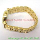 Vigilanza calda del quarzo della lega di modo con la fascia della lega per la donna (Ja-15096)