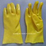 Водонепроницаемый Non-Slip работу с покрытием из ПВХ защитные перчатки