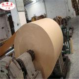 China Molino de rollos de papel Kraft marrón para envolver y de impresión