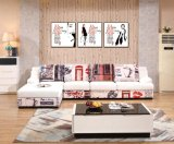 Sofá de cuero de diseño moderno Sofá de cuero de diseño moderno