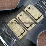 Custom 3PCS chama Captadores Maple Top Lp guitarra eléctrica (BPL-566)