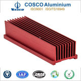 Het aluminium schaaft Vin Heatsink voor Elektronische Apparaten af