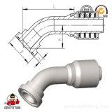 45° à bride SAE 6000 PSI hydraulique un morceau le raccord de flexible (87641Y)