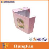Коробка подарка упаковки картона одежды фабрики бумажная упаковывая складная