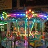 12 Sièges enfants Parc de loisirs de plein air merry go round carrousel antique