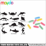 La spugna espandentesi animale della crescente della capsula gomma piuma molle magica delle creature scherza il giocattolo