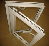 工場直売の安い価格の単一の4mmガラスが付いているアルミニウム振動Windows