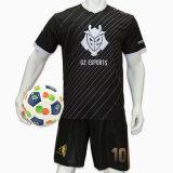 De bonne qualité d'Uniformes de soccer junior de SUBLIMATION Maillot de soccer Football Shirt personnalisé
