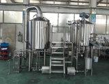 商業ビール醸造所のプラントビール醸造装置のクラフトビールを作るマイクロビール醸造所のステンレス鋼機械