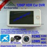 """3.0 """" Ambrella A7la50 GPS che segue automobile DVR con Hdr; WDR; Fcws; Ldws; G-Sensore"""